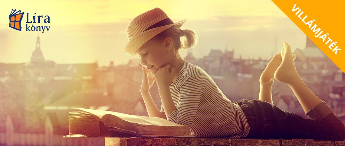 Villámjáték: Játssz a 10.000 Ft értékű Líra könyvcsomagért!