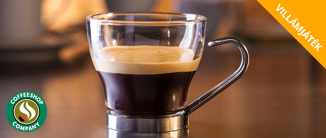 Villámjáték: Játssz a 10.000 Ft értékű Coffeeshop Company vásárlási utalványért!