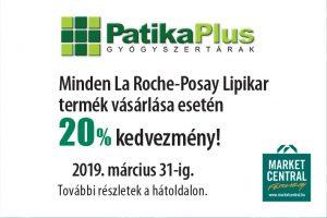 20% kedvezmény a Patika Plusban!