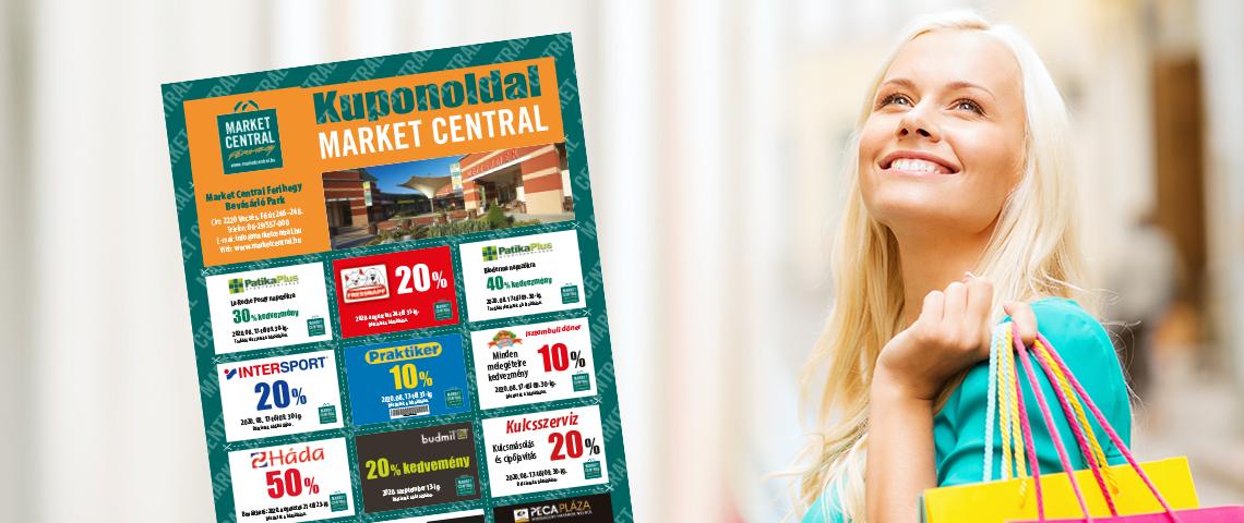 Market Central kuponok a Régió újságban!