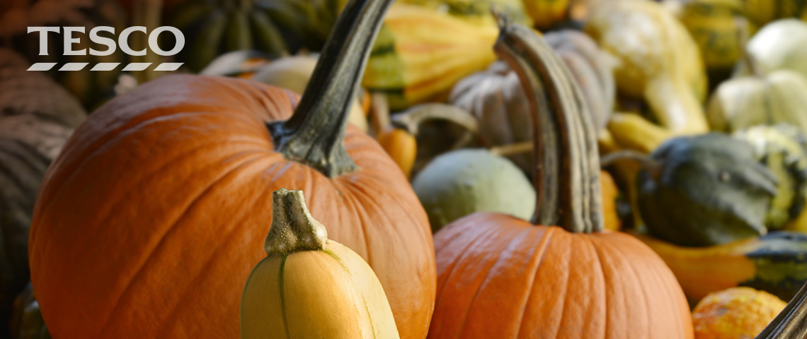 Az idei ősz tökválogatása a Tescóban!