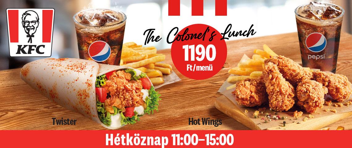 Ebédelj a KFC-ben a Market Centralon!