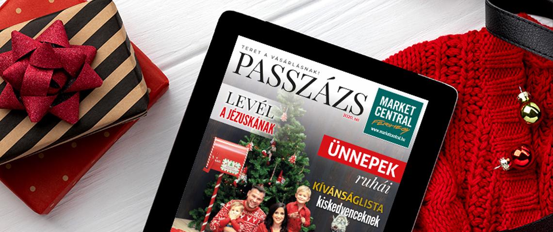 Megjelent a Passzázs magazin Téli száma