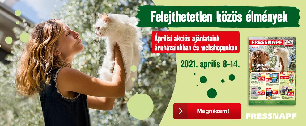 Tavaszi FRESSNAPF ajánlatok!