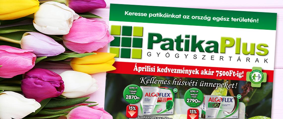 Lapozz bele a PatikaPlusz áprilisi akcióiba!
