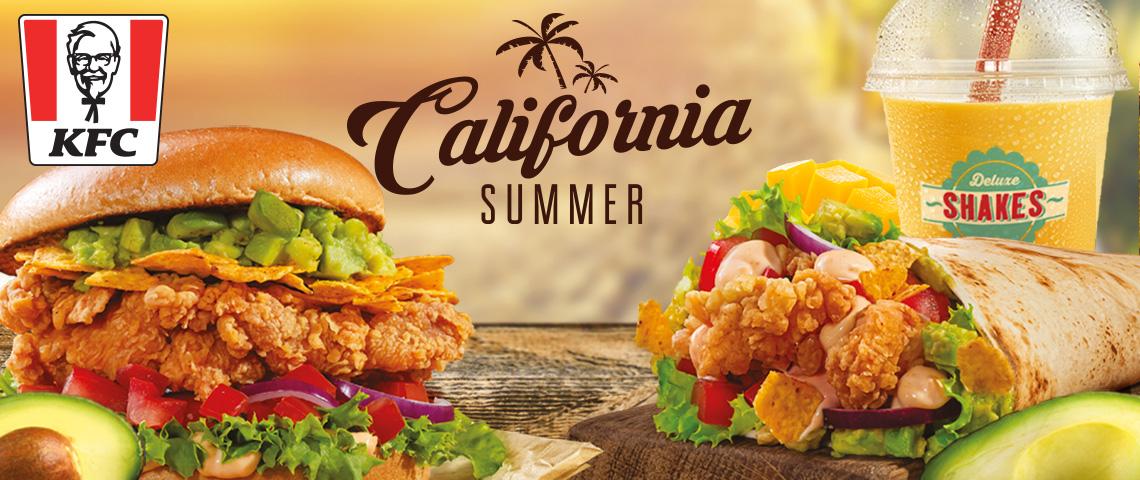 Élvezd a nyarat a KFC újdonságaival!